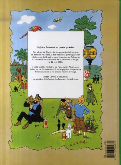 Dos lè j'avanturè dè Tintin tome 18 - l'afére Tournesol
