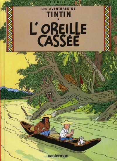 image de Tintin tome 6 - l'oreille cassée (petit format)