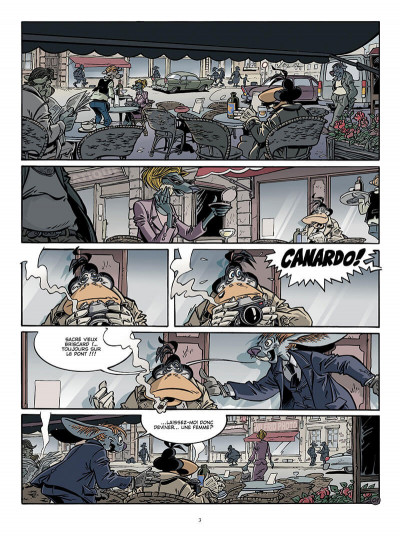 Page 2 Canardo tome 17 - une bourgeoise fatale