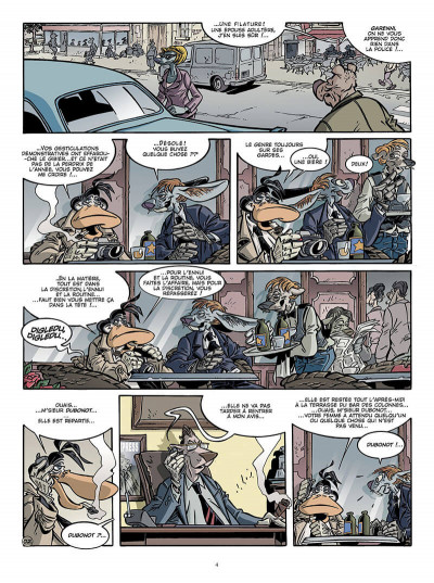 Page 3 Canardo tome 17 - une bourgeoise fatale