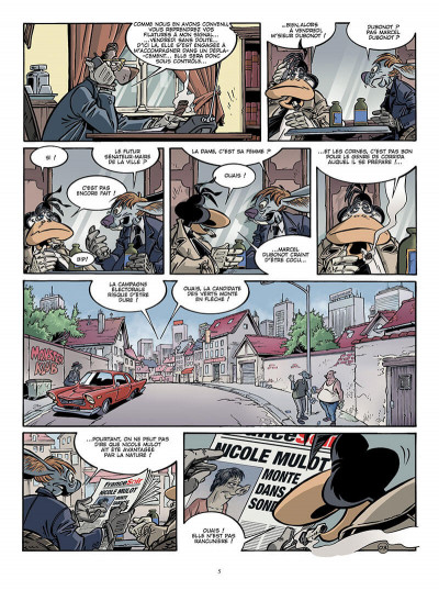 Page 4 Canardo tome 17 - une bourgeoise fatale
