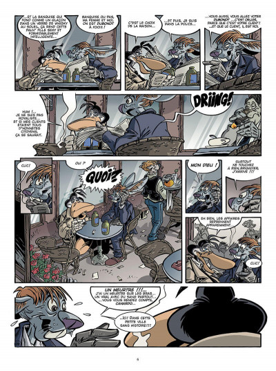 Page 5 Canardo tome 17 - une bourgeoise fatale