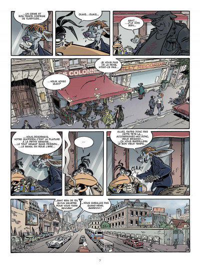 Page 6 Canardo tome 17 - une bourgeoise fatale