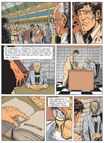 Page 1 la trilogie noire tome 3 - sueurs aux tripes