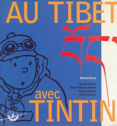 Couverture Au Tibet avec Tintin