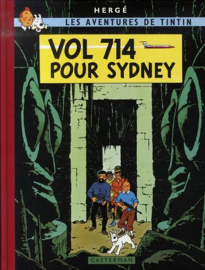 image de Tintin tome 22 - vol 714 pour sydney (fac-similé couleurs 1968)