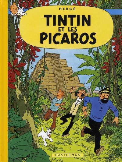 image de Tintin tome 23 - tintin et les picaros (fac-similé couleurs 1976)