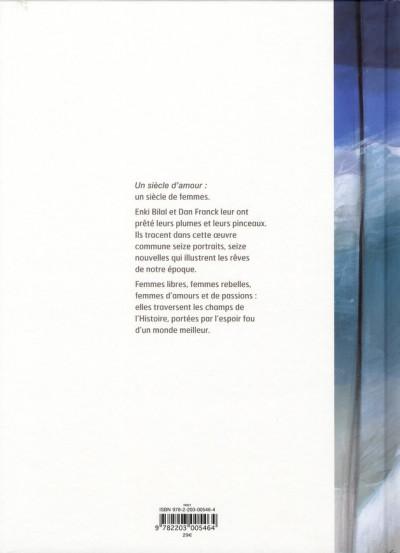 Dos Un siècle d'amour (édition 2009)
