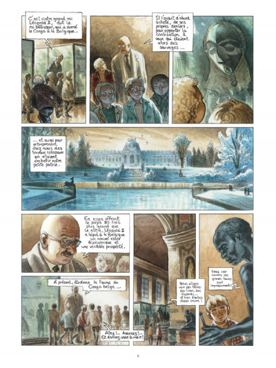 Page 3 Africa dreams tome 1 - l'ombre du roi