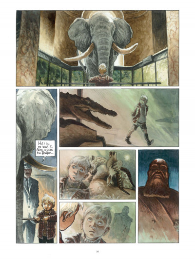 Page 4 Africa dreams tome 1 - l'ombre du roi