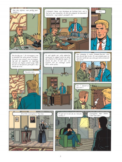 Page 4 Lefranc tome 19