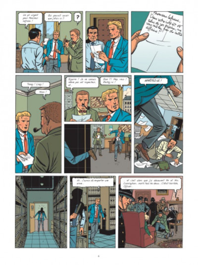 Page 5 Lefranc tome 19