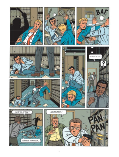 Page 6 Lefranc tome 19