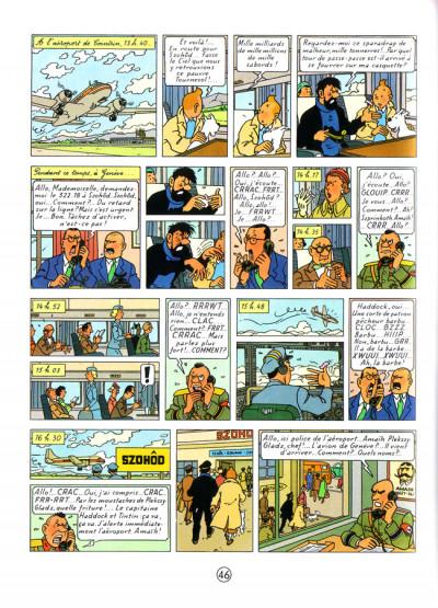 Page 1 Tintin tome 18 - l'affaire tournesol (petit format)