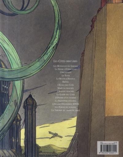 Dos Les cités obscures tome 1 - Les murailles de Samaris
