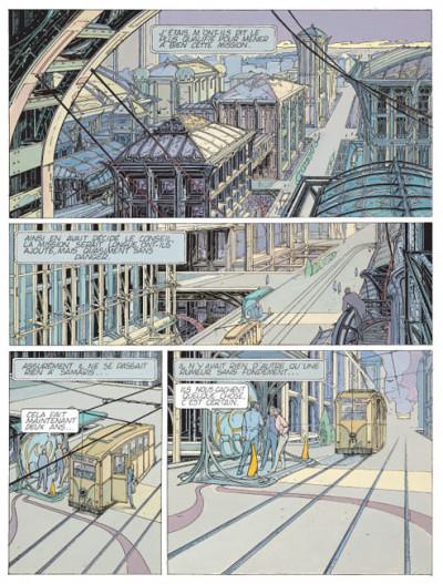 Page 1 Les cités obscures tome 1 - Les murailles de Samaris