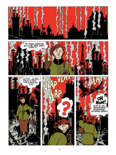 Page 4 Adèle blanc-sec tome 9 - le labyrinthe infernal