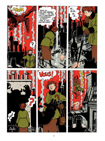 Page 5 Adèle blanc-sec tome 9 - le labyrinthe infernal
