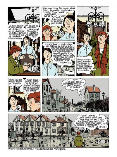 Page 8 Adèle blanc-sec tome 9 - le labyrinthe infernal