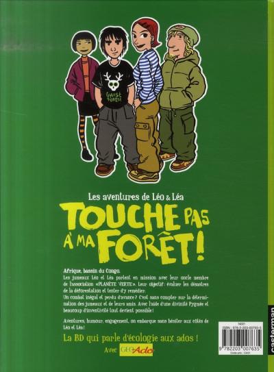 Dos léo et léa tome 3 - touche pas à ma forêt !