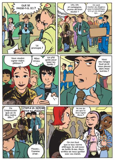 Page 1 léo et léa tome 3 - touche pas à ma forêt !