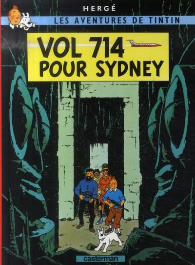 image de Tintin tome 22 - vol 714 pour sydney (petit format)