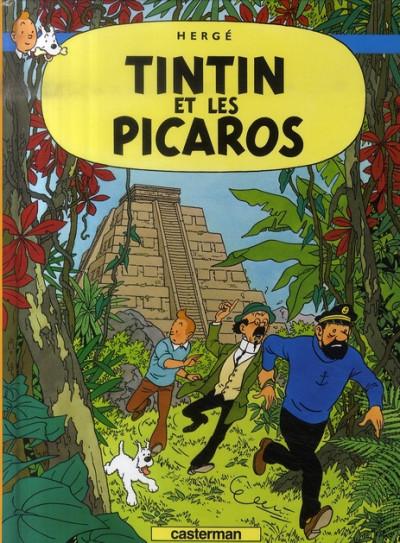 image de Tintin tome 23 - tintin et les picaros (petit format)
