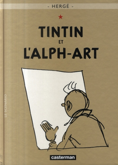 Couverture Tintin tome 24 - tintin et l'alph-art (petit format)