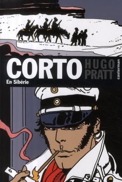 Couverture Corto maltese poche tome 24 - en Sibérie