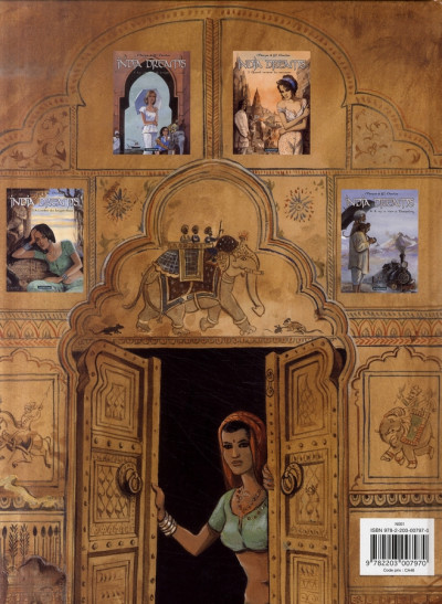 Dos India dreams tome 2 - quand revient la mousson (édition 2007)