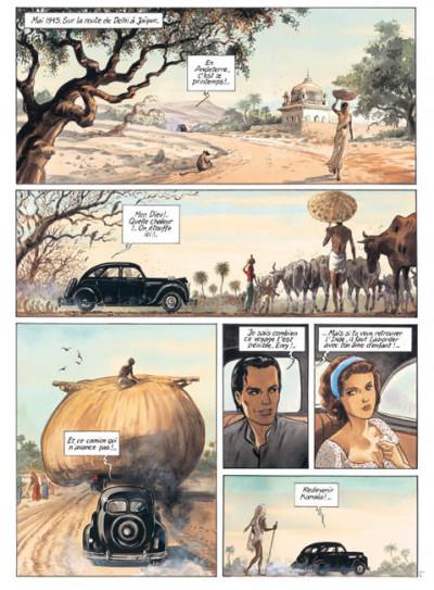 Page 1 India dreams tome 2 - quand revient la mousson (édition 2007)