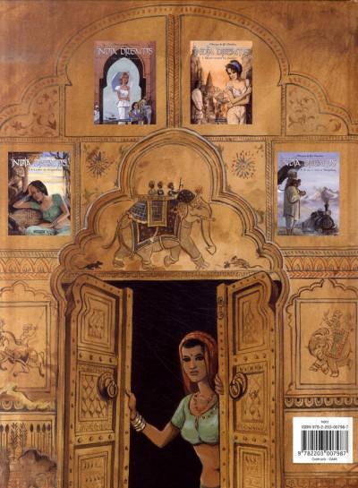 Dos India dreams tome 3 - à l'ombre des bougainvillées (édition 2007)