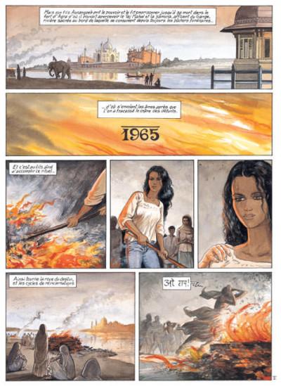 Page 1 India dreams tome 3 - à l'ombre des bougainvillées (édition 2007)