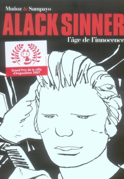 Couverture Alack sinner - intégrale tome 1 - l'âge de l'innocence