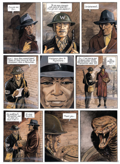 Page 1 India dreams tome 1 - les chemins de brûme (édition 2007)