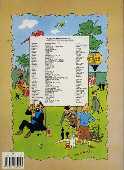 Dos les aventures de Tintin tome 18 - d'affar mit'm tournesol