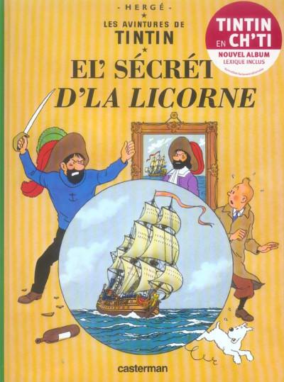 image de el' secret d'la licorne (en ch'ti)
