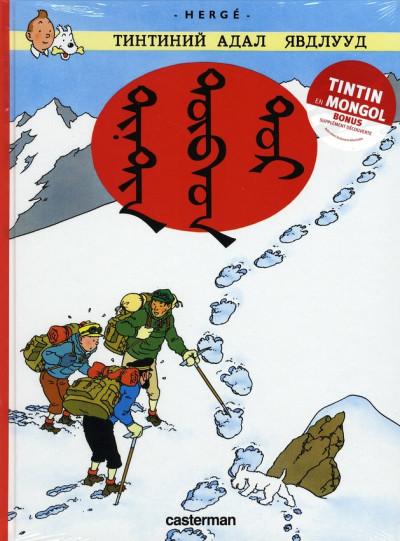 image de Tintin au tibet