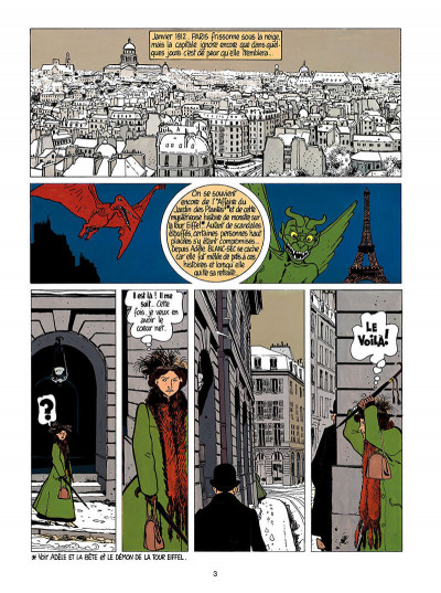 Page 4 Adèle blanc-sec tome 3 - le savant fou