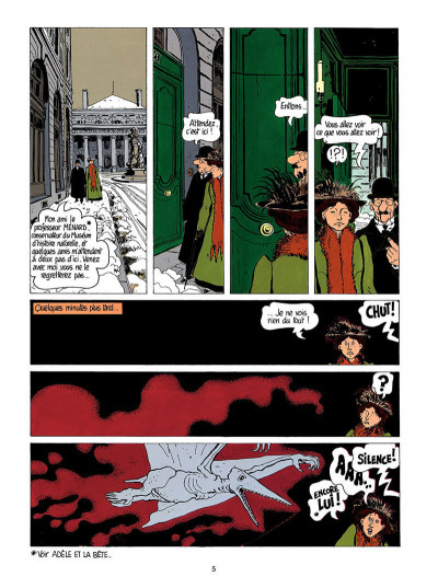 Page 6 Adèle blanc-sec tome 3 - le savant fou