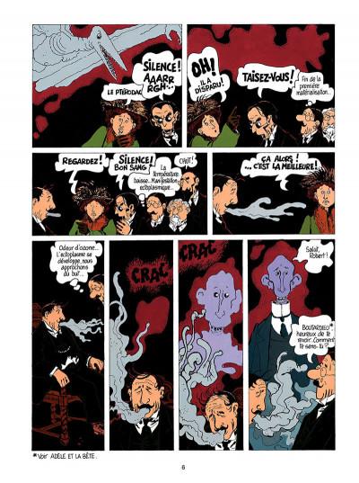 Page 7 Adèle blanc-sec tome 3 - le savant fou