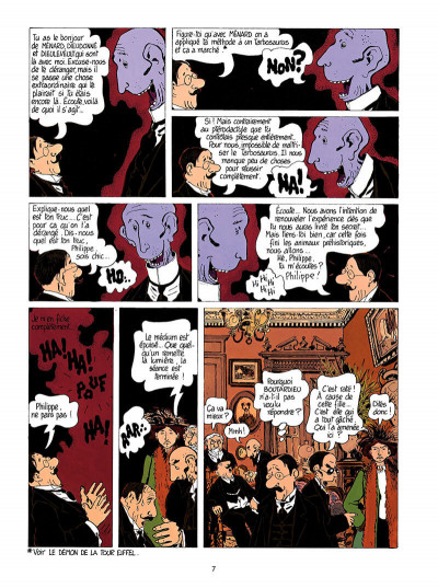 Page 8 Adèle blanc-sec tome 3 - le savant fou