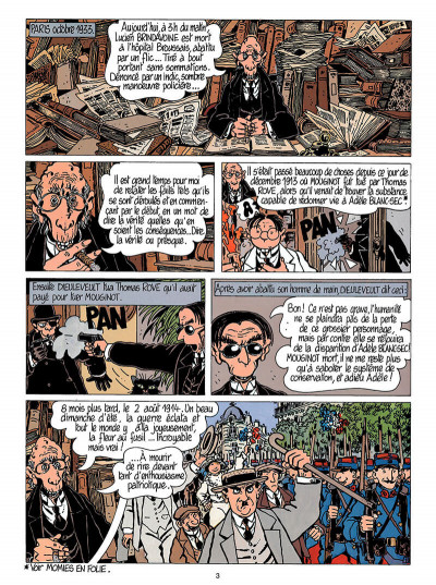 Page 4 Adèle blanc-sec tome 5 - le secret de la salamandre
