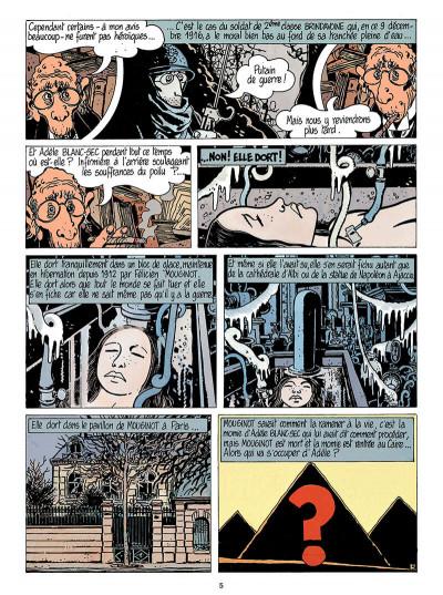 Page 6 Adèle blanc-sec tome 5 - le secret de la salamandre