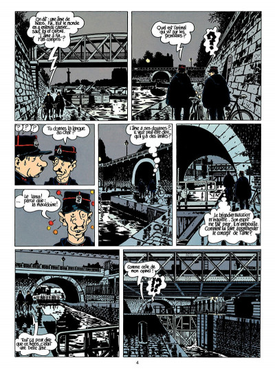 Page 5 Adèle blanc-sec tome 6 - le noyé à deux têtes