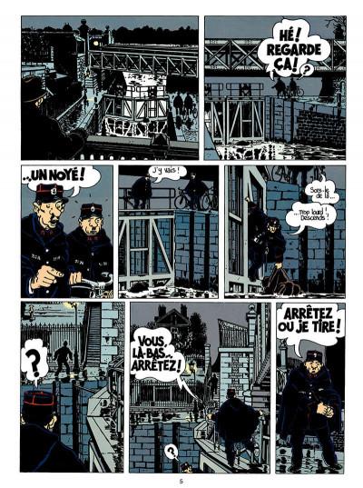 Page 6 Adèle blanc-sec tome 6 - le noyé à deux têtes