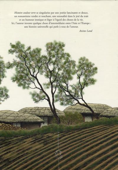 Dos Histoire couleur terre - coffret tome 1 à tome 3