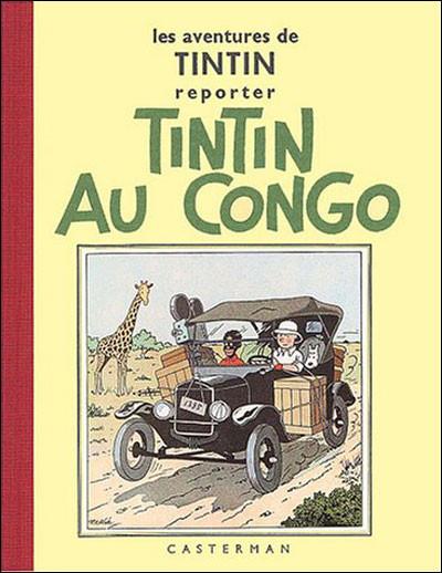 Page 0 Tintin tome 2 - tintin au congo (fac-similé N&B 1930-31)