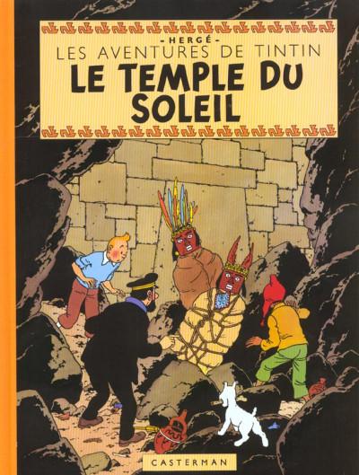 image de Tintin tome 14 - le temple du soleil (fac-similé couleurs 1949)
