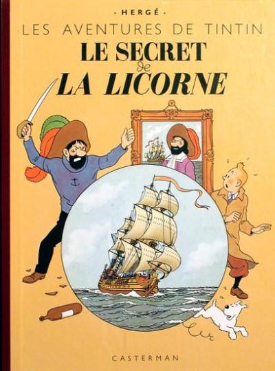 Page 1 Tintin tome 11 - le secret de la licorne (fac-similé couleurs 1943)